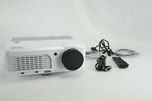 EUG Wireless Projector Bluetooth Android 6.0 Wxga LCD LED Multimedia X660S+