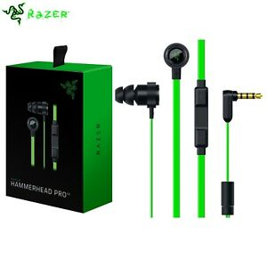 Razer Hammerhead Pro V2 (2016) In-Ear Gaming Headphones In-line Volume