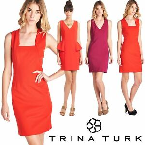 TRINA TURK WHOLESALE WOMEN DRESS OFFICE SUMMER SIZE ASSORTED STYLE LOT 80 PIECES