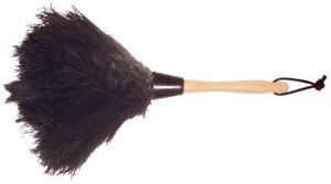 Wool Shop Ostrich Feather Duster 13 In. Durable Dust Cleaning Tool High Quality