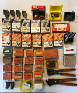 Rare Collection of 45 Vintage Lyman and Ideal Bullet Molds