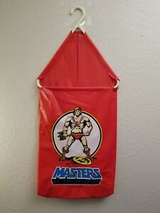 Rare Vintage He-Man Masters Of The Universe Hanging Laundry Hamper 1985 Mattel
