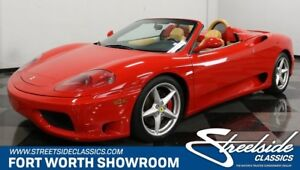 2002 360 F-Spider VERY CLEAN & RECENTLY SERVICED JUST 18K MILES PADDLE SHIFTERS BEAUTIFUL 360!!