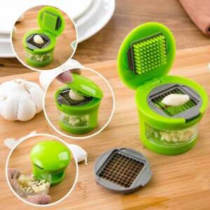 Kitchen Tool Mini Garlic Press Presser Onion Chopper Garlic Mincer Slicer Grater