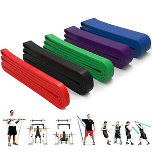Elastic Resistance Band Muscle Workout Bands Fitness Body Equipment For Yoga lot