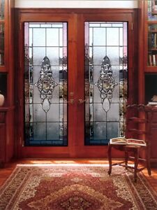 Beautiful Stained Glass Exterior designer Doors