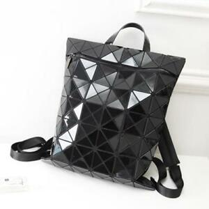 5 COLOR Women Men Geometric Bao Foldable LARGE Tote BACKPACK Bucket Purse gift