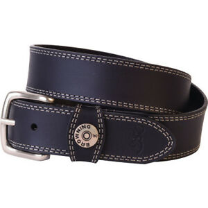 BROWNING BBE10100938  LEATHER BELT 38