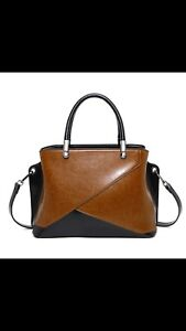 European Style Luxury Genuine Leather Handbags Ladies Top-handle Bags Designer