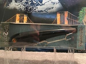 ***RARE*** and HTF River 2 Sea WideGlide Surface 200F Topwater Lure for Muskies