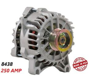 250 AMP 8438 Alternator Ford Mustang 4.6L 05-09 High Output Performance NEW HD