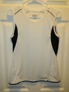 quot;REEBOKquot; Clima Dri Womens Sz L Polyester Running Workout Top in Superior Con $9.49