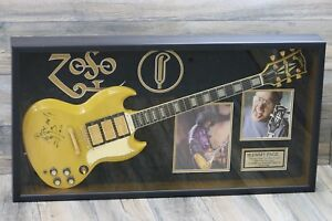 Jimmy Page of Led Zeppelin Signed and Owned! Gibson Les Paul SG 30th Anniversary