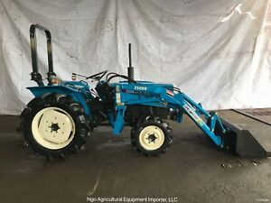 Mitsubishi D2350D Diesel Compact Tractor with Front End Loader