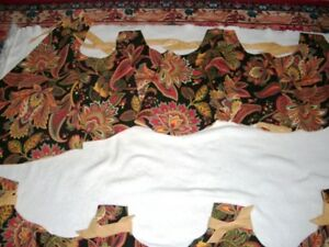 Swag Valance panels curtains window covering 50