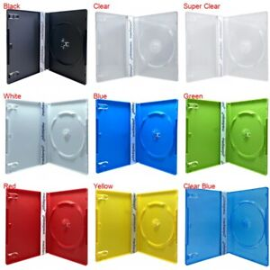 PREMIUM STANDARD Single DVD Cases 14MM (100% New Material)