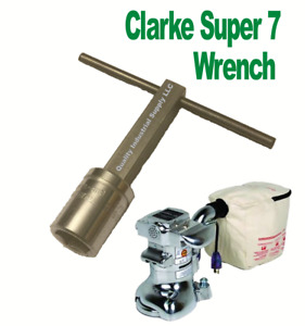 Clarke Super 7 7R Floor Edger Sander Paper Bolt Wrench Edger Key HEAVY DUTY
