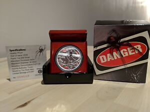 2006 $1 Deadly & Dangerous Red Back Spider One Ounce Silver Proof # 4547