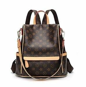 Fashion Leather Backpack Purse for Women Shoulder Bag Handbags Travel Purse