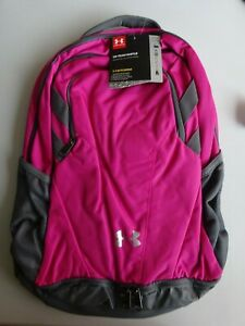 Under Armour Team Hustle 3.0 Backpack Tropic PinkGraphite NWT