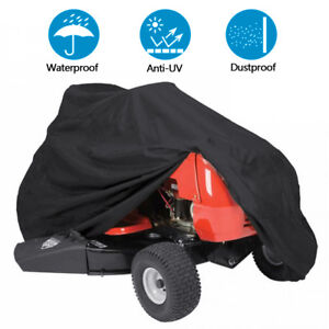 Lawn Mower Tractor Cover UV Resistant Waterproof Garden Outside Yard Riding $14.98