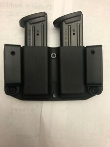 OWB kydex Magazine Holster Fits Double Stacks 9 or 40
