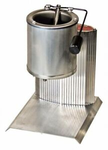 Electric Lead Melting Pot 10 Pound Metal Melter Furnace Casting Molds Spout Grey