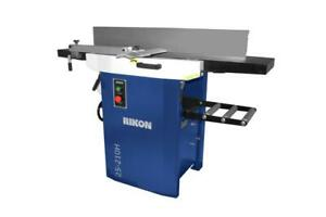 Rikon-25-210H 12 In. PlanerJointer wHelical Cutter Head
