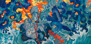2015 James Jean Adrift Auto Hand Signed Limited Ed Art Giclee Lithograph Print