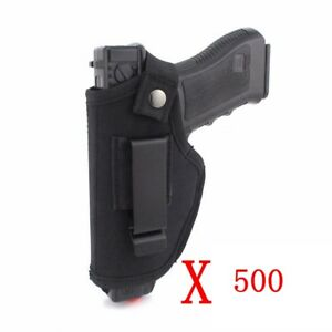 500XTACTICS HIP BELT GUN HOLSTER FOR SMITH & WESSON M&P SHIELD 9MM & 40 S&W & 45