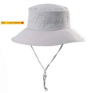 Sptlimes Fashion Summer Outdoor Sun Protection Cap Wide Brim Summer Hat for Fish
