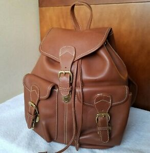 Stone Mountain Leather Brown Backpack