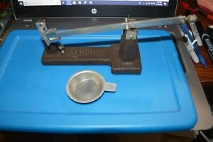 LOT #18  PART ONLY!!! REDDING POWDER SCALE WTRAY NO HOLDER POWDER TRAY