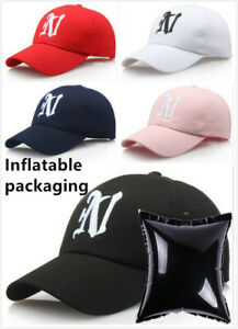 N Letter embroidery baseball cap women hat adjustable men fashion Dad hats USA