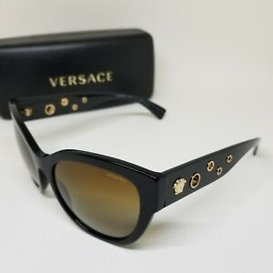 VERSACE 4314 POLARIZED SUNGLASSES – BEAUTIFUL DESIGN – AUTHENTIC (C738)