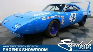 1970 Superbird Richard Petty Replica uper Bird Mopar Hemi NASCAR Satellite V8 Classic Vintage Collector Race Blue Tr