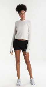 Brand New Womans Nike Eclipse Running Shorts Black Size XS 6-8 RRP £32