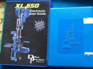 DILLON XL 650 650 5-STAGE TOOL HEAD WITH DVD XL650 ELECTRONIC USER GUIDE-USED