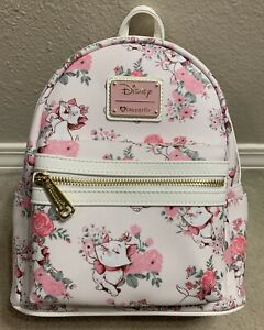 Disney Loungefly Aristocats Marie Faux Leather Handbag Bag Mini Backpack NWT