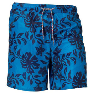 NEW CUTTER AND BUCK TROPICAL SWIM SHORT (BIG AND TALL) SEAPORT X-LARGE