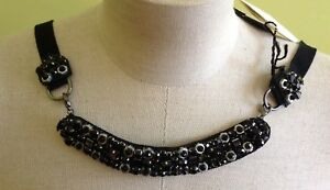 Authentic MAX MARA 'S Statement Collar necklace Italy MSRP $435.00