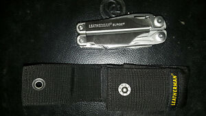 NEW Leatherman Surge Multi-Tool Stainless Steel with Nylon Sheath 830158