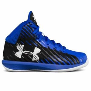 Under Armour Jet Express Mid  Boys Basketball Shoes Sneakers 11K 12K 13K