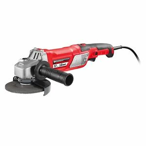 Powerbuilt 5 In. 10A Variable Speed Angle Grinder With Electronic Speed Control $49.99