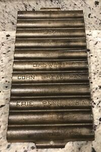 GRISWOLD  # 954-F CORN BREAD CAST IRON PAN