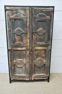 Custom Cabinet Designed 18th Century French Doors