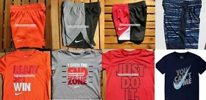 NIKE BOYS SIZE 4T SHORTS ~ SIZE 4 Dri-Fit TOPS ~ SUMMER ~ AUTHENTIC NIKE ~ NWT