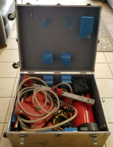 Used 1x Hilti Diamond Core Drilling System w/ Locking Carrying Case on wheels