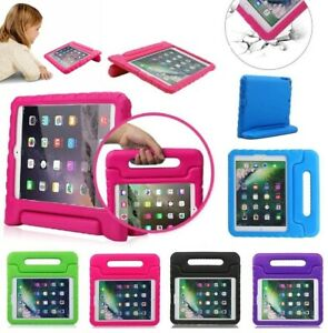 Kids Shock Proof Foam Case Handle Cover Stand for iPad 2 3 4 5 Mini Retina