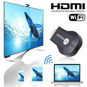 WiFi HDMI Anycast Miracast Airplay TV 1080P Wireless Display DLNA Dongle Adapter